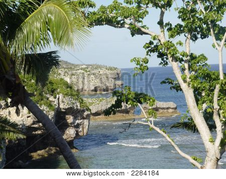 Kust View van Alofi Niue