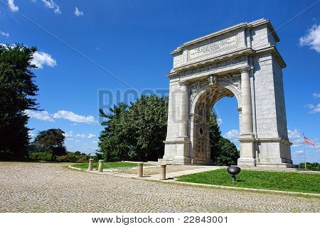 Valley Forge National Park Memorial Arch