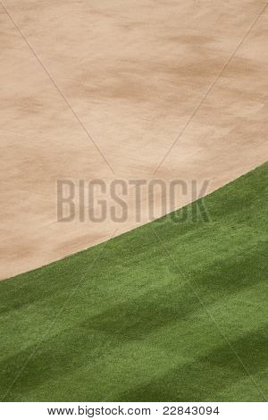 Baseball Turf Background