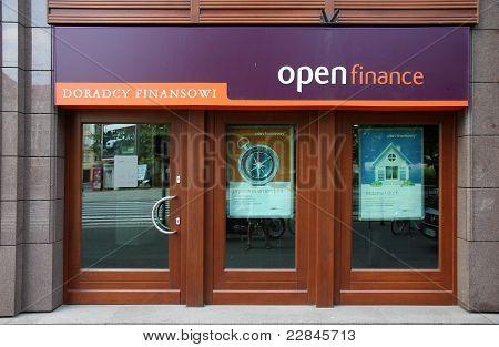 Financial Advisory - Open Finance