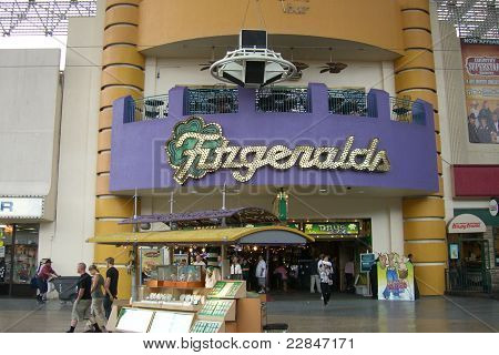 Las Vegas - Fitzgeralds Hotel And Casino