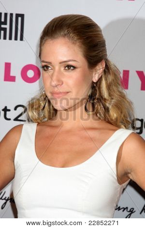 LOS ANGELES - MAY 12: Kristin Cavallari at the Nylon Magazine Young Hollywood Party 2010 at the Hollywood Roosevelt Hotel in Los Angeles, California on May 12, 2010
