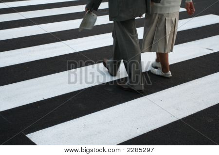 Zebra - Pedestrian Crossing