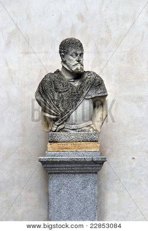 Bust Of Felipe Ii