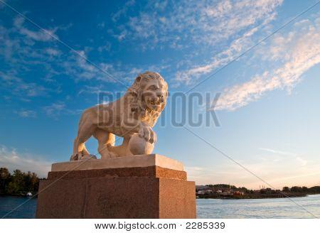 León Imperial al atardecer