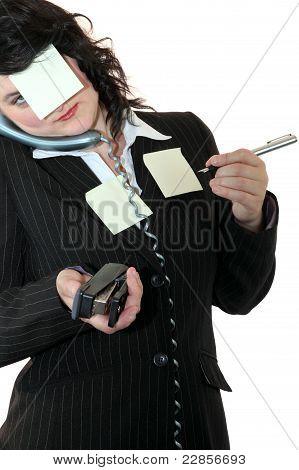 Office Clerk Multi Tasking