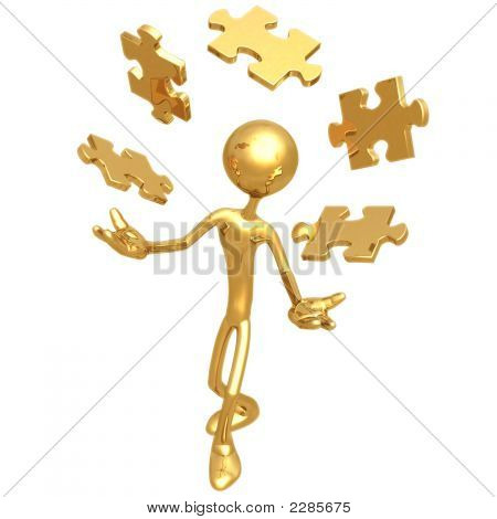 Juggling Puzzle Pieces