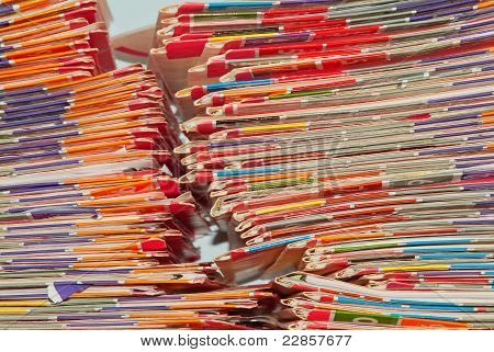 Medical Records Folders.