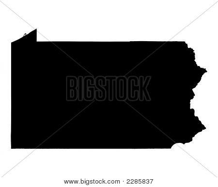 Map Of Pennsylvania, Usa