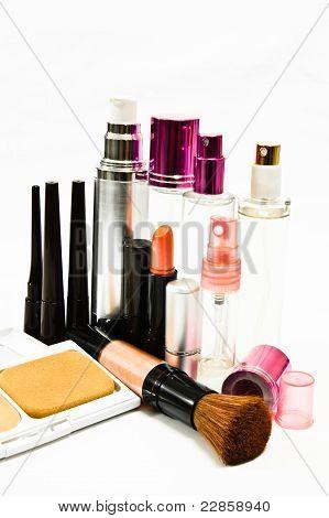Makeup Of Vivid Color