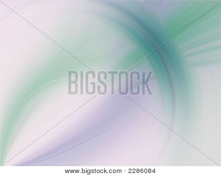 Fractal Abstract Background - Curving Weave