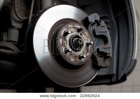 Brake Disc And Brake Pads