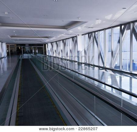 the empty escalator