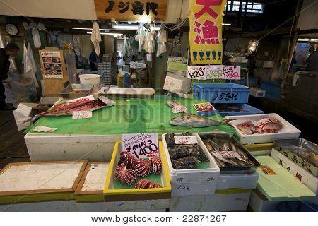 Fish Market Tokyo