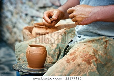 Wheel Wedging Clay