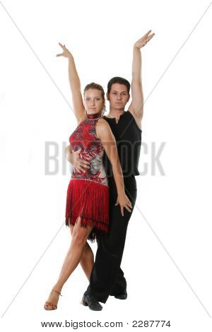 Latin Dancing Couple