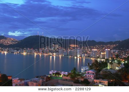 Acapulco Bay, Mexico