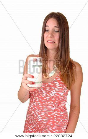 Girl Doesn't Like Milk.