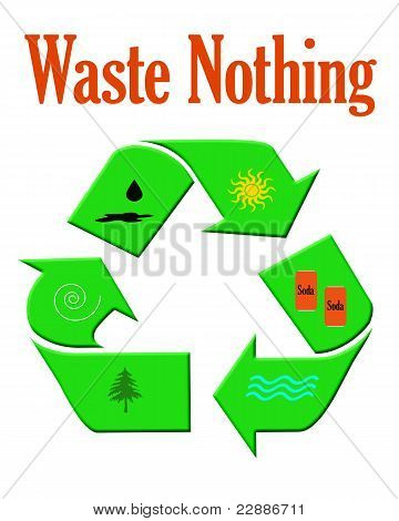 waste nothing recycle