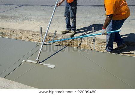 Acabado de concreto