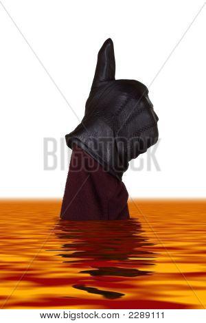 Hand In Lava