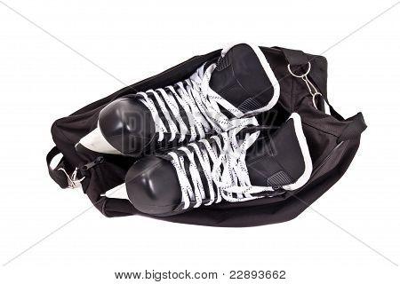 Bag For Pair Of Hockey Skates