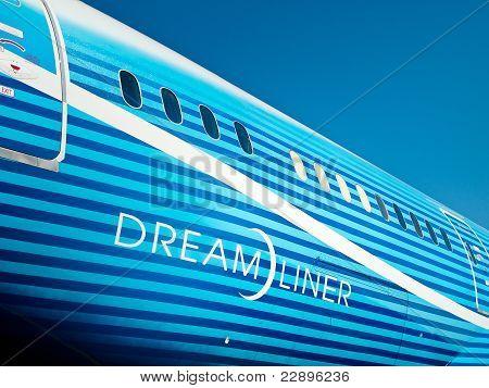 Fuselage Of 787 Boeing Dreamliner