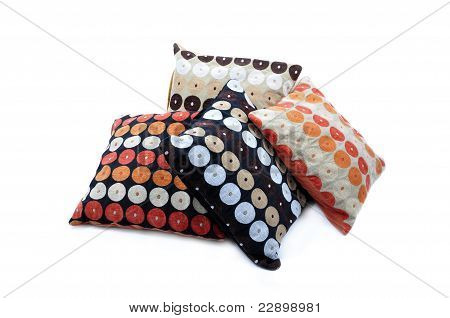 Four color cushions
