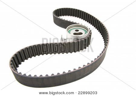 Timing Belt Isolated