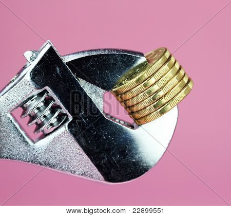 Pink Money Squeeze