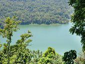 Lake Buyan, Caldera Lake At Bali. Beautiful Lake With Turquoise Water In The Mountains Of The Island poster