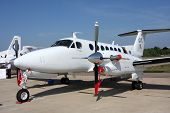 Passenger Aircraft Business Class Beechcraft King Air.