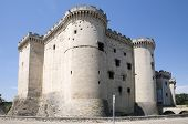 stock photo of anjou  - The construction of the current castle of Tarascon was started in 1401 by Louis II of Anjou - JPG