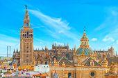Seville Cathedral (catedral De Santa Maria De La Sede De Sevilla poster