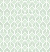 Abstract Geometric Pattern With Lines. A Seamless Vector Background. Graphic Green And White Pattern poster