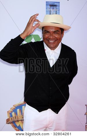 LOS ANGELES - MAY 7:  George Lopez arrives at the 5th Annual George Lopez Celebrity Golf Classic at Lakeside Golf Club on May 7, 2012 in Toluca Lake, CA
