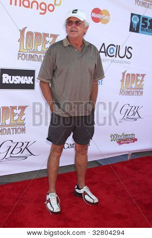 LOS ANGELES - MAY 7:  William Devane arrives at the 5th Annual George Lopez Celebrity Golf Classic at Lakeside Golf Club on May 7, 2012 in Toluca Lake, CA