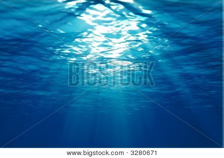 Una escena submarina