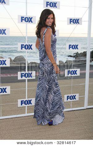 LOS ANGELES - 5 de AUG: Mercedes Masohn arribando a la fiesta de FOX TCA verano 2011 en Gladstones Aug