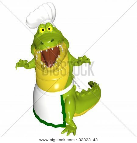 Alligator Chef - Attack