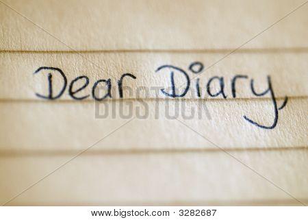 Liebes Tagebuch