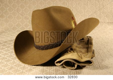 Cowboy Hat & Gloves 2
