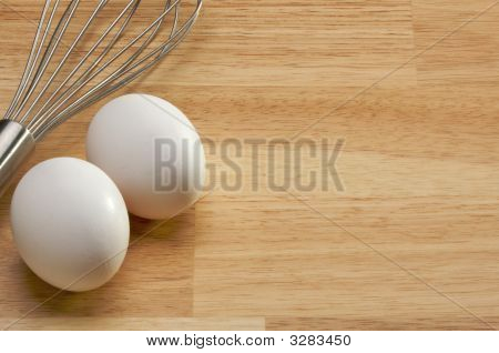 Mixer And Eggs