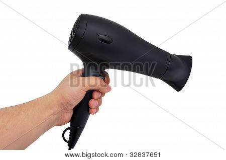 Black Hairdryer