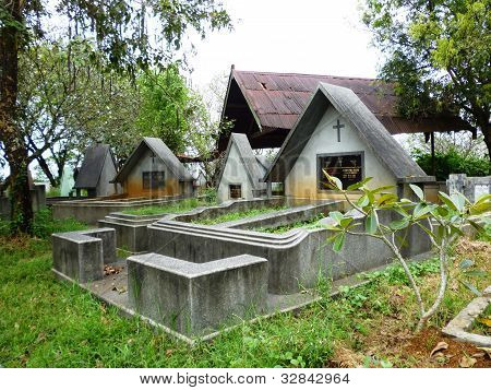 Chinese graves in Indonesia