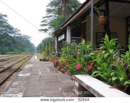 Malaysische Bahnhof