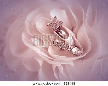 Wedding Rings Vignette