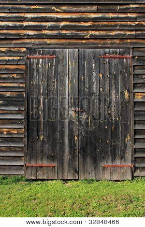 Barn Door Backgraound