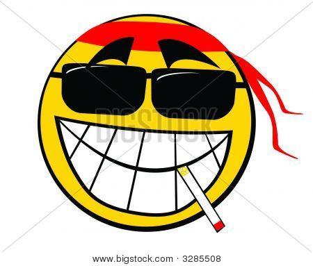 Smiley Icon Smoker