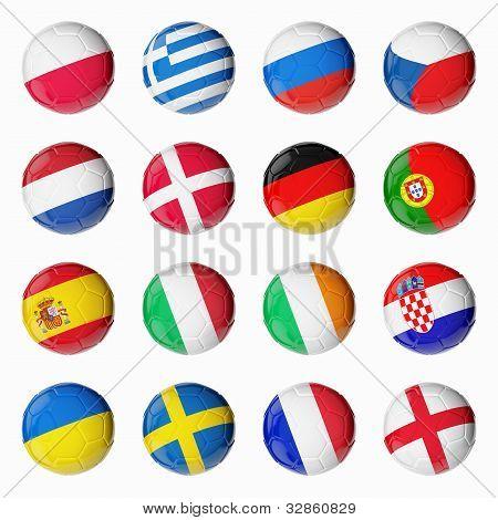 Futebol Euro 2012